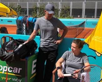 Simona Halep clarifica relatia sa cu Darren Cahill, dupa eliminarea de la US Open