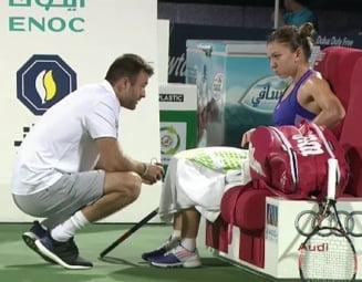 Simona Halep clarifica situatia antrenorului sau: Ce se intampla cu Victor Ionita