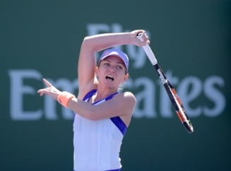 Simona Halep dezvaluie care a fost momentul crucial al meciului de la Indian Wells