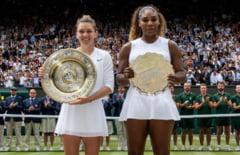 Simona Halep dezvaluie ce i-a spus Serena Williams la fileu, dupa finala de la Wimbledon