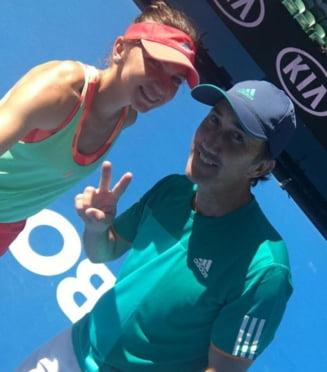 Simona Halep dezvaluie ce i-a transmis Darren Cahill dupa eliminarea de la Australian Open