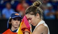 Simona Halep dezvaluie ce problema are dupa victoria dramatica de la Australian Open
