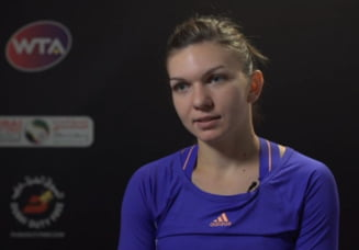 Simona Halep dezvaluie cel mai important moment al semifinalei cu Wozniacki