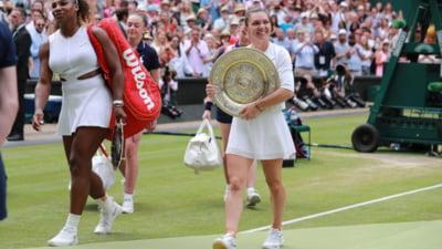 Simona Halep dezvaluie cum a lasat-o Serena Williams sa astepte 8 minute