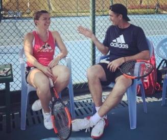 Simona Halep dezvaluie reactia lui Darren Cahill dupa victoria cu Garcia: Ce l-a bucurat pe australian