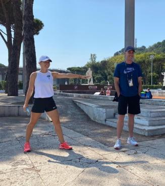 """Simona Halep este in optimi la Roma. """"Este un sentiment placut sa-l am pe Darren Cahill in echipa. A venit cu un aer proaspat. Sper sa am cat mai multe meciuri castigate"""""""