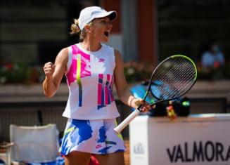 """Simona Halep este in semifinale la Roma. """"Sunt foarte multumita de jocul meu"""""""