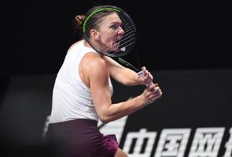 Simona Halep explica de ce a pierdut meciul cu Pliskova de la Turneul Campioannelor