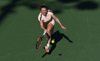 Simona Halep explica infrangerea din meciul cu Agnieszka Radwanska de la Miami