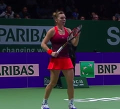 Simona Halep face o promisiune extraordinara dupa eliminarea de la Turneul Campioanelor
