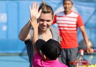 Simona Halep face un gest superb cu banii castigati din tenis