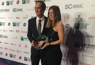 Simona Halep i-a transmis un mesaj lui Darren Cahill dupa ce a fost desemnata jucatoarea anului