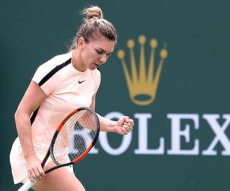 Simona Halep isi cunoaste adversara din sferturile Indian Wells: Meci accesibil pentru numarul 1 WTA