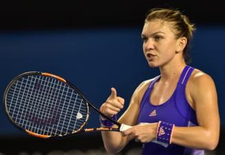 "Simona Halep joaca impotriva ""reginei revenirilor"" la Australian Open"