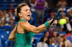 Simona Halep merge din nou in finala de la Cincinnati, dupa o demonstratie de tenis