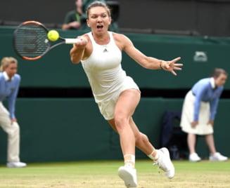 Simona Halep o invinge cu emotii pe Aliaksandra Sasnovich in primul tur la Wimbledon