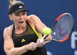 Simona Halep o invinge dramatic pe Johanna Konta si avanseaza in semifinale la Cincinnati