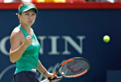 Simona Halep o invinge fara probleme pe Venus Williams si merge in sferturi la Rogers Cup