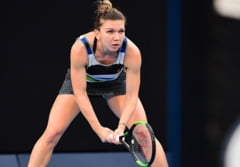 Simona Halep o invinge pe Eugenie Bouchard si se califica in optimi la Dubai