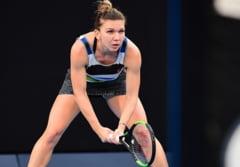 Simona Halep o invinge pe Eugenie Bouchard si se califica in optimi la Dubai