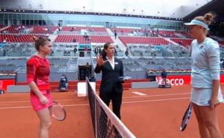 Simona Halep o invinge pe Irina Begu si merge in semifinale la Madrid dupa un meci electrizant