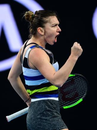 Simona Halep o invinge pe Karolina Pliskova dupa un meci dramatic, iar Romania conduce Cehia la general cu 2-1