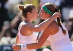Simona Halep o va intalni din nou pe Jelena Ostapenko, la Wuhan, la 3 luni de la finala de poveste de la Roland Garros