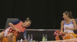 Simona Halep obtine o victorie muncita la Stuttgart