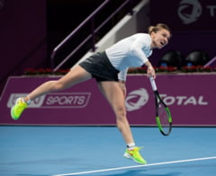Simona Halep pierde la Doha o finala pe care a avut-o in mana in setul secund