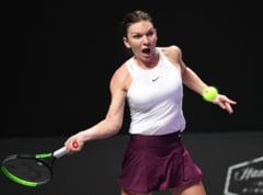 Simona Halep pierde meciul cu Karolina Pliskova si paraseste Turneul Campioanelor