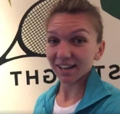 Simona Halep prezinta culisele Turneului Campioanelor (Video)