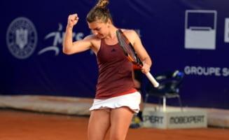 Simona Halep prezinta marele sau avantaj inaintea meciului cu Angelique Kerber de la Turneul Campioanelor
