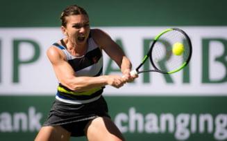 Simona Halep priveste cu emotii semifinalele de la Indian Wells: Pe ce pozitie ar putea ajunge in clasamentul WTA