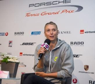 Simona Halep pune presiune pe Sharapova: Rusoaica, obligata sa castige la Stuttgart