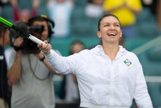 Simona Halep reuseste o performanta de exceptie: O intrece pe Serena Williams