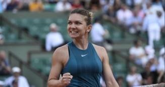 Simona Halep reuseste o performanta superba dupa victoria din meciul cu Angelique Kerber