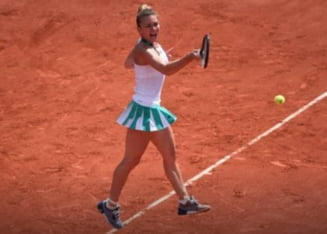 Simona Halep revine fantastic si se califica in semifinale la Roland Garros