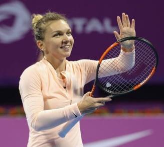 Simona Halep revine pe locul 1 WTA fara sa joace