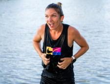 Simona Halep s-a aruncat in raul care strabate orasul Praga, dupa finala castigata in fata lui Mertens