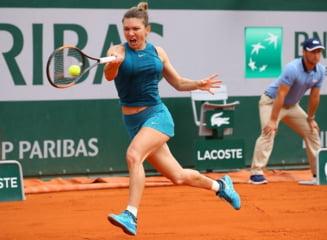 Simona Halep s-a calificat en-fanfare in sferturi la Roland Garros