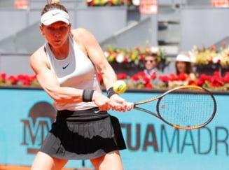Simona Halep s-a calificat fara probleme in optimi la Madrid