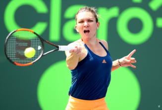 Simona Halep s-a calificat greu in turul 3 la Miami