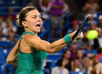 Simona Halep s-a calificat in optimi la Cincinnati