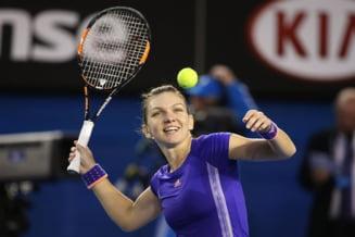 Simona Halep s-a calificat in optimi la Dubai