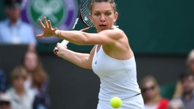 Simona Halep s-a calificat in optimi la Wimbledon