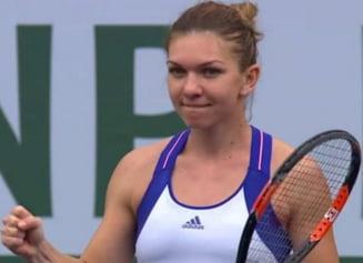 Simona Halep s-a calificat in semifinale la Indian Wells
