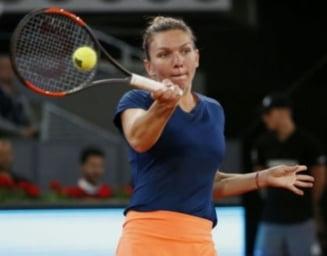 Simona Halep s-a calificat in semifinale la Roma