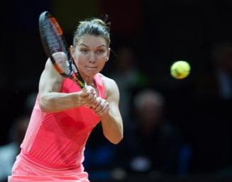 Simona Halep s-a calificat in semifinale la Stuttgart