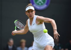 Simona Halep s-a calificat in semifinale la Wimbledon