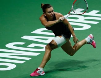 Simona Halep s-a calificat in semifinalele Turneului Campioanelor